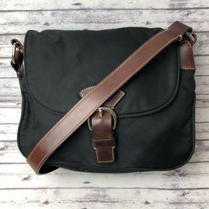 Dooney & Bourke Wayfarer Black Nylon Bag Purse